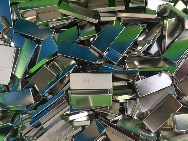 N42M Neodymium Blocks Nickel Coating