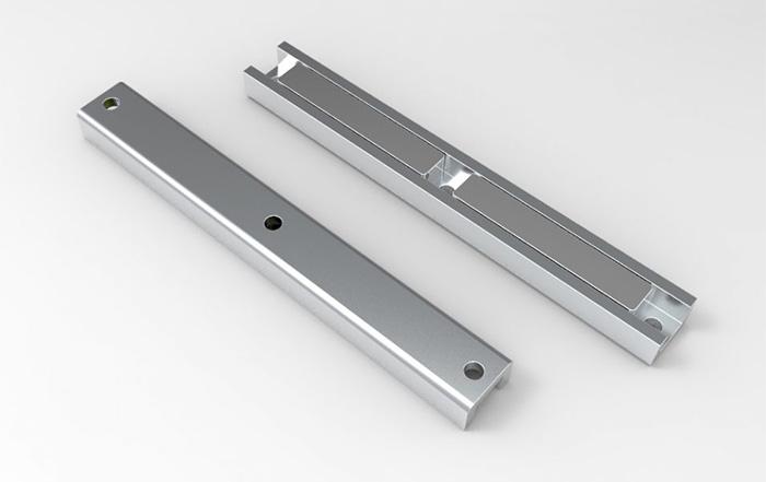Channel Neodymium Magnet Assemblies