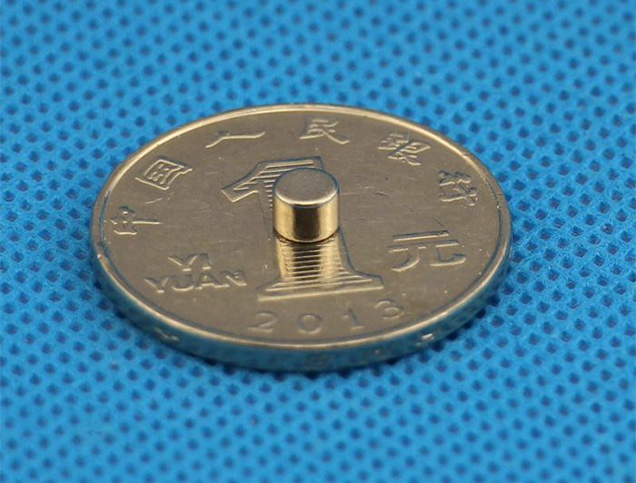 D4x3mm Mini NdFeB Disc Magnet Neodymium