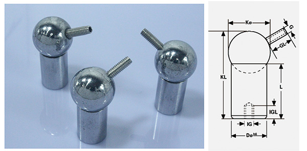 Magnetic Ball Joints