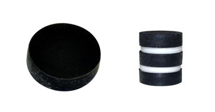 Rubber Plating Disc Neodymium Magnets