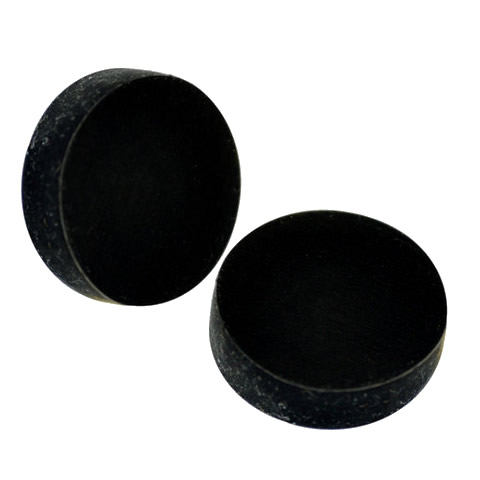 Rubber Coating Round Memo Magnets