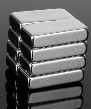 Bar Magnet Ni+Cu+Epoxy