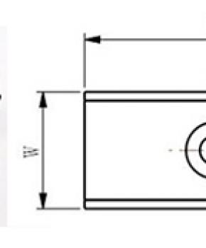Neodymium Countersunk Channel Magnets