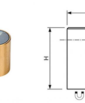 Neodymium Deep Pot Bi-Pole Magnets