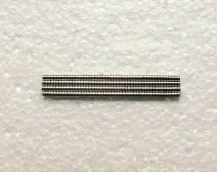D2x2 mm Neodymium Mini Disc Magnet