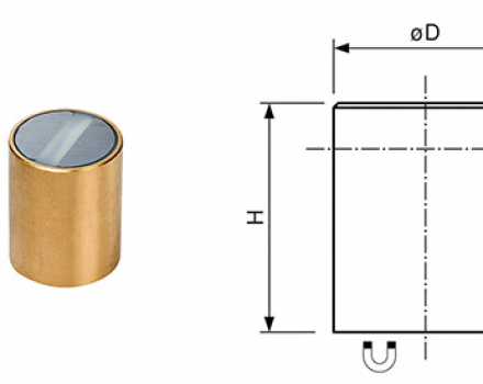 Neodymium Deep Pot Bi-Pole Magnets