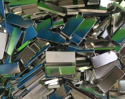N42M Neodymium Blocks Nickel Coating